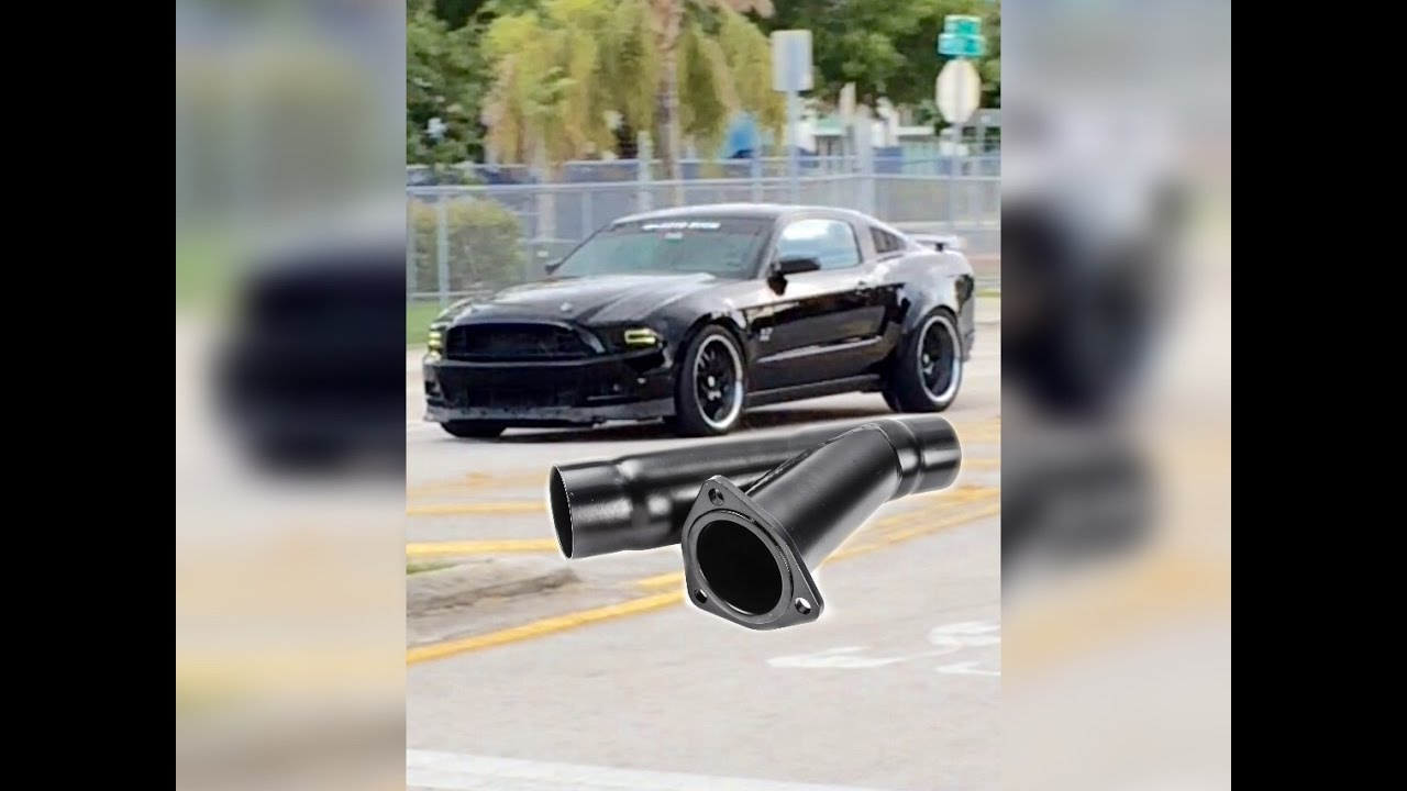 Exhaust Cutouts 2017 Mustang V6 Ghost Cam Tuned
