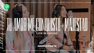 Generación 12 - Tu Amor Me Conquisto + Majestad (Live Sessions) I Musica Cristiana I Musica 2021