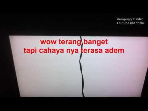 MEMANFAATKAN BEKAS TV LCD YG RUSAK PANEL Atau LAYAR JADI LAMPU PENERANGAN