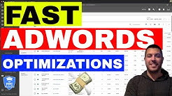 How To Optimize Google Adwords Campaigns (FAST & EASY) 🔥🔥🔥