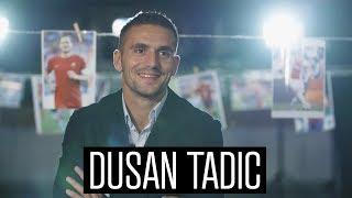 Dusan Tadic nieuwe aanvoerder Ajax: 'Probeerde altijd al een leider te zijn'