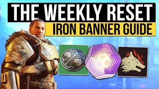 Destiny 2 | IRON BANNER IS BACK! - Weekly Reset, New Shaders, Milestones & Nightfall! (10th October)
