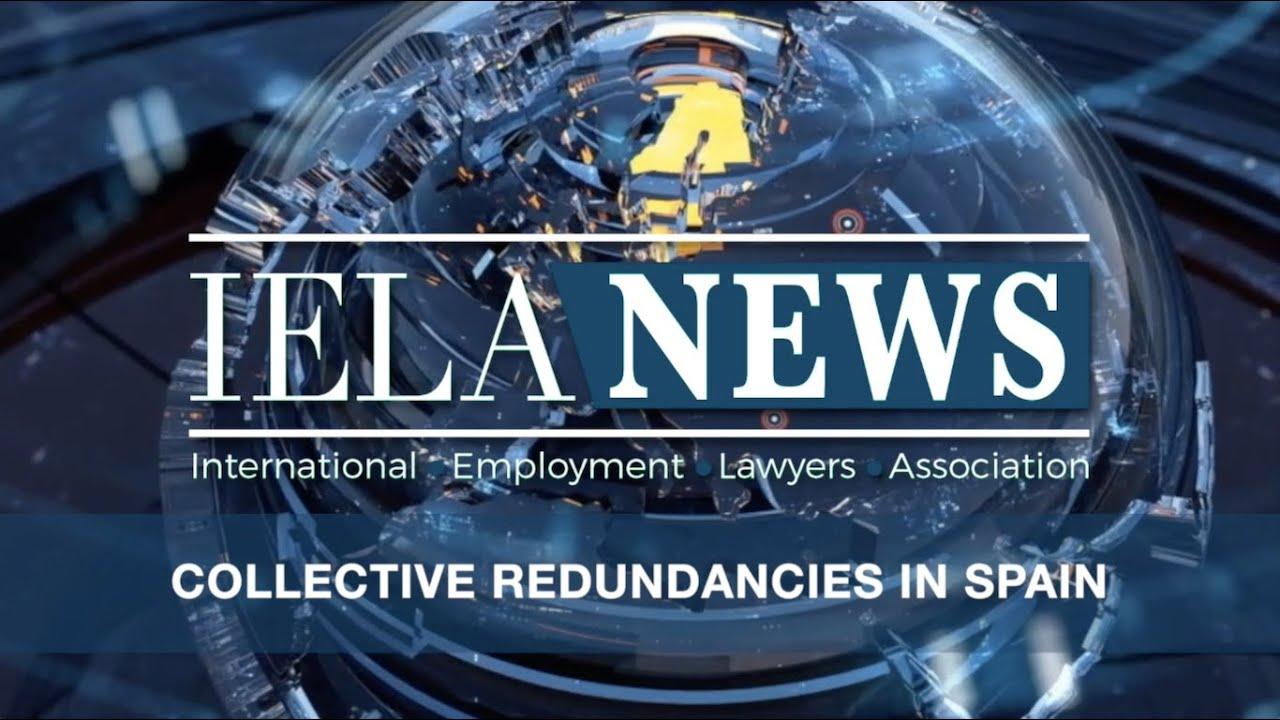 Colective redundancies in Spain