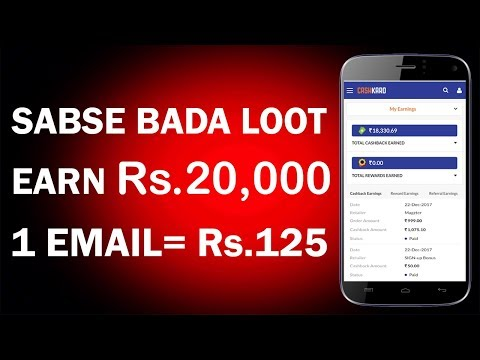 loot)Pay Rs 999 & Earn Rs 1100 cash back in your bank from Magzter