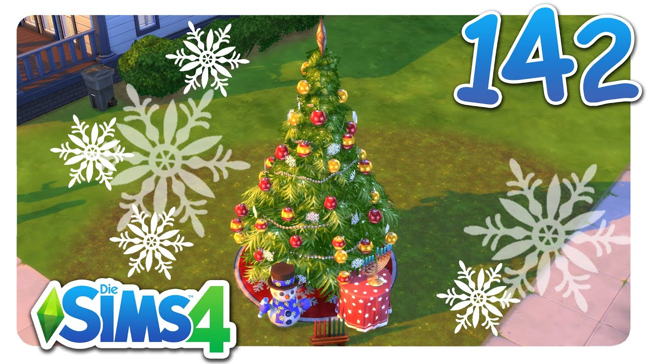 sims 4 karrieren unterm weihnachtsbaum 142 let 39 s play. Black Bedroom Furniture Sets. Home Design Ideas