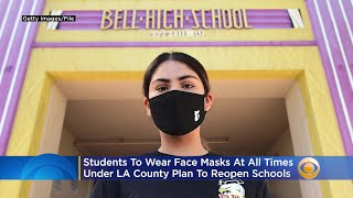 Students To Wear Face Masks At…
