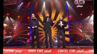 أدهم نابلسى - إبراهيم عبدالعظيم - محمد الريفى - لو تعرفوا - The X Factor Arabia