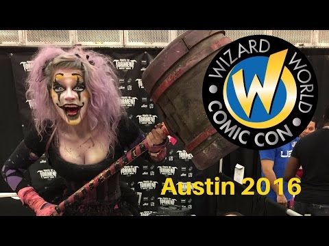 Austin Wizard World Comic Con 2016