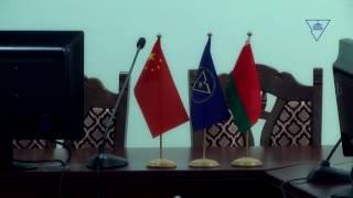 Визит делегации Чунцинского политехнического университета (КНР) в ГрГУ имени Янки Купалы