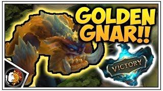 Teamfight Tactics: LvL 3 Gnar Is RAW POWER