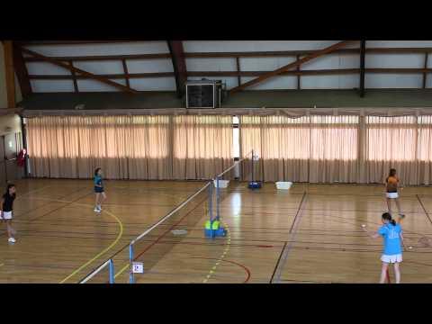 Badminton_CDJS 2015_Sacha en quart_MVI 6417