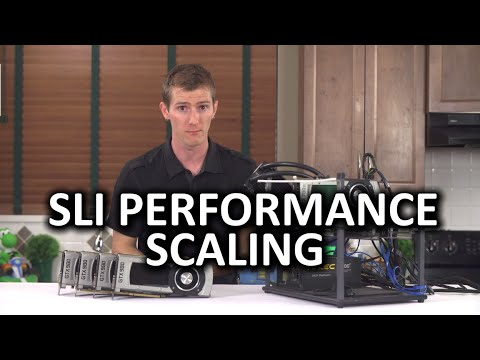 SLI Performance Scaling - Gaming at 4K Resolution