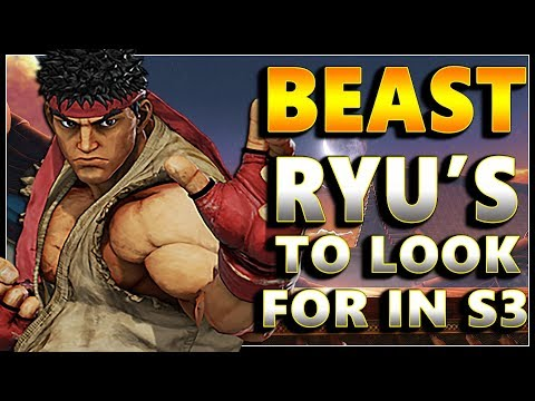SFV - Ryu Monsters To Look For in Season 3 | Compilation - SF5