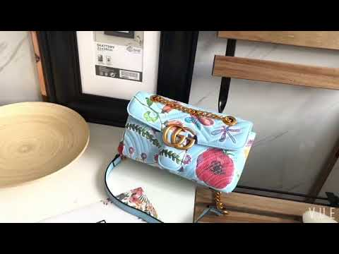 8b6ffcd1d568 MY GUCCI Unskilled Worker GG Marmont shoulder bag 443497 0E21E 4881 ...