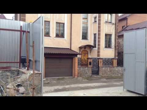 видео: Складывающиеся автоматические распашные ворота