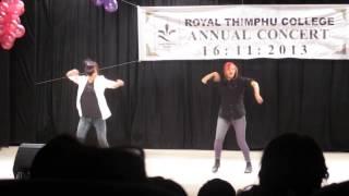 awesome dance rtc bhutanese girls