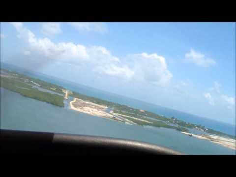 Tropic Air Cessna 172 Landing