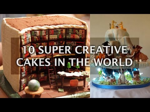 10 Super Creative Custom Cakes Designs that Will Blow your Mind | Top 10 List