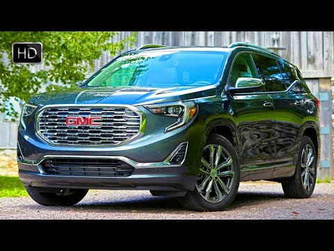 2018 GMC Terrain Denali Compact Luxury SUV Design Overview & Driving Footage HD