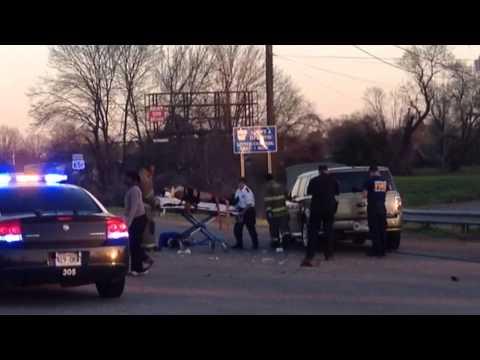 Twocar Accident On Martha Mitchell Expressway In Pine Bluff