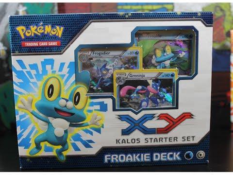 Pokemon FROAKIE KALOS STARTER DECK Opening Unboxing