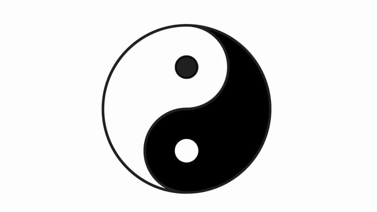 Yin Yang Symbol Adobe Illustrator Cs6 Tutorial Quick