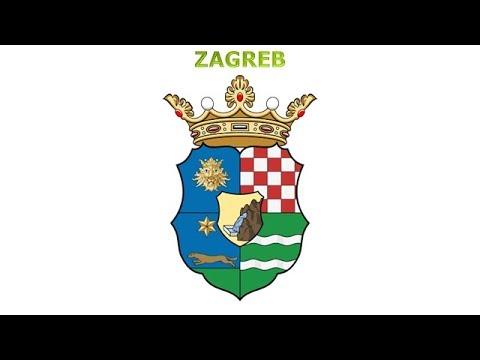 Coats of arms of Counties of the Kingdom of Croatia-Slavonia - Znaky žup Kr. Chorvatsko-Slav.