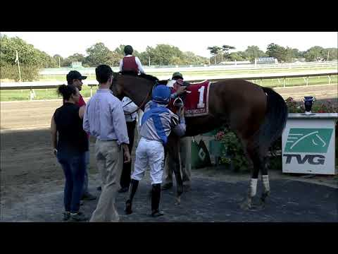 video thumbnail for MONMOUTH PARK 9-22-19 RACE 8 – THE HOLLYWOOD WILDCAT STAKES