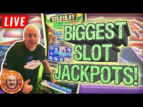 Tuesday Night Live! ? The BEST High Limit Slot Jackpots ? - The Big Jackpot - 동영상