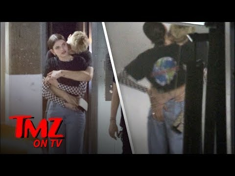 Anwar Hadid Makes Out With Kendall Jenner LookAlike In L.A.  TMZ TV