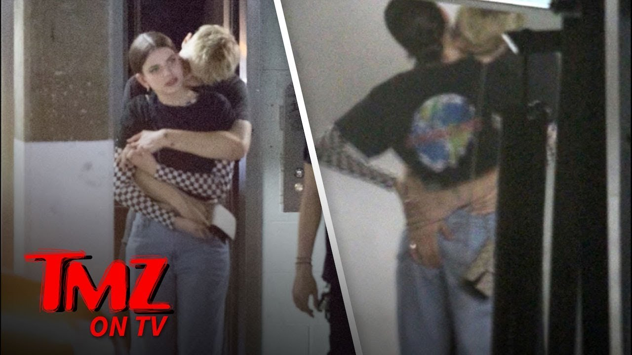 Anwar Hadid Makes Out With Kendall Jenner Look Alike In L A Tmz Tv Youtube