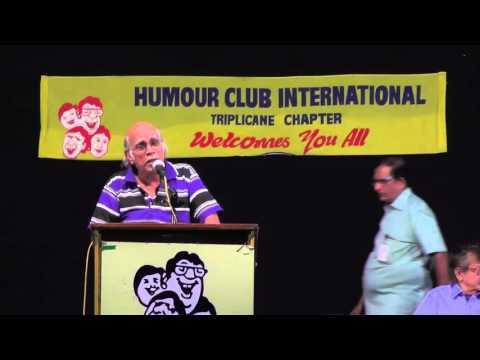 Humour Club | Hilarious speech by Kavingar Nandalala | March 2016