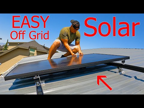 Off Grid Solar Battery! - So easy its *Almost* Cheating...