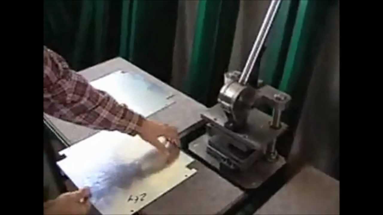 Технология производства фасадных металлокассет. - YouTube