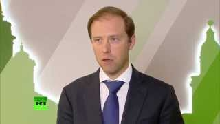 Мантуров: Российская промышленность получила ряд выгод от введенных против РФ санкций (ЭКСКЛЮЗИВ)