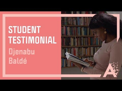 Alumni - Business Management Student - Djenabu