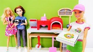 Открытие ресторана Барби. Видео для девочек