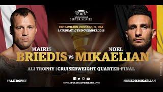 Briedis vs Mikaelian - WBSS Season 2 Cruiserweight QF3