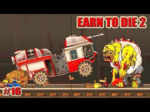 Игры зомби Гонки, давить зомби