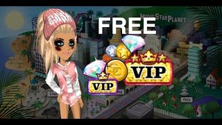 HOW TO GET FREE VIP!! APRIL 2017 | MovieStarPlanet