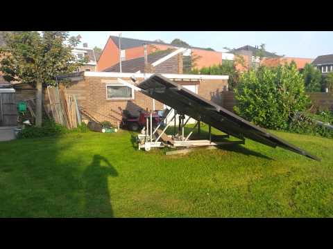 Solar tracker Wijlre NL Suntracker Sun tracker Off-Grid Holland