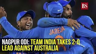 Nagpur ODI: Team India takes 2-0 lead against Australia