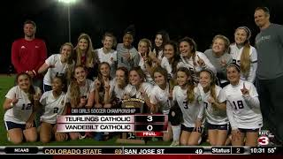 Teurlings wins DIII Girls Soccer State Title