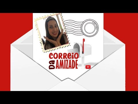 RECEBI CARTA DE UMA YOUTUBER CORREIO DA AMIZADE - BIANCA MANENTI