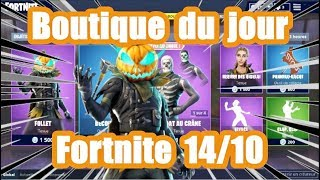 [ Fortnite] The shop of the day 14 October (skin follet)