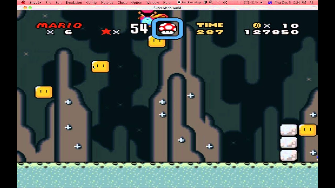 Super Mario World How To Switch On The Green Blocks Youtube