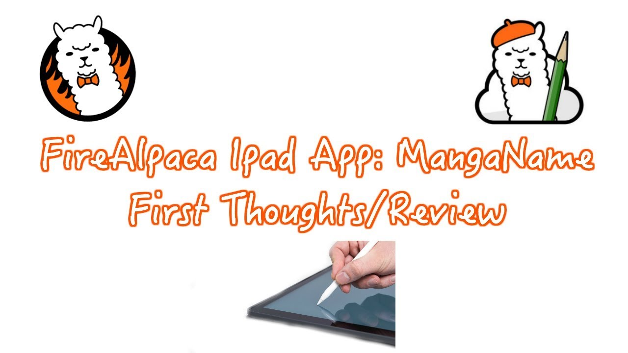 Firealpaca Ipad App: First Impressions + Review!