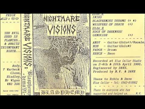 Nightmare Visions - Blasphemy (Full Demo) 1991