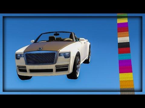 NAJVECA RAMPA U BOJAMA DUGE ! Grand Theft Auto V - Lude Trke w/Cale thumbnail