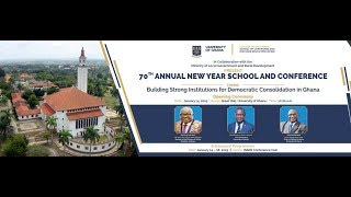 70th Annual New Year School and Conference - Panel Discussion Day 4 Morning